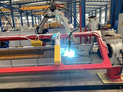 片式标准节全自动焊接机器人